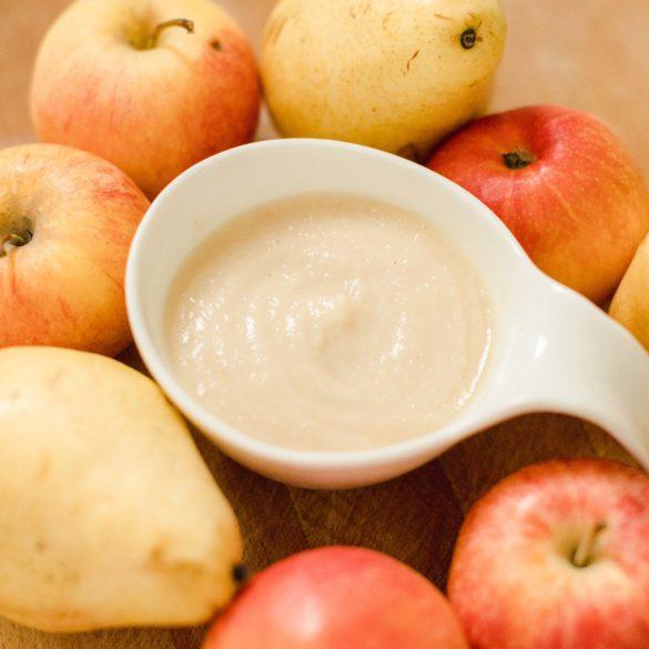 blog-bebe-vegan-recette-compote-pomme-poire-cannelle