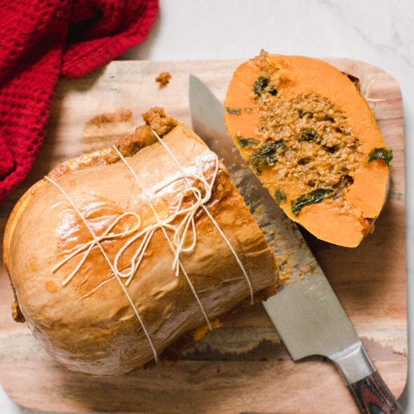 blog-vegan-cuisine-recette-vegetale-butternut-farcie-rotie-noel-reveillon
